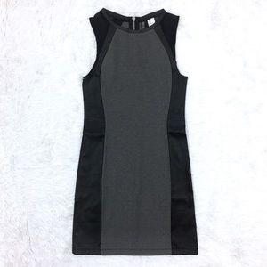H&M Gray Leather Mini Dress